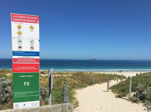 BEN signs to aid safety at beaches in the State's north