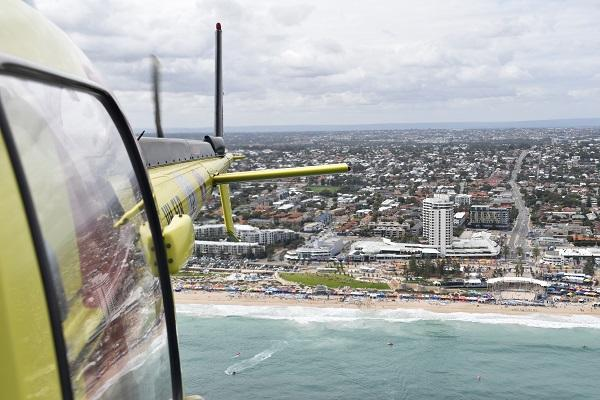 Helicopter patrols begin in spring for Perth and South-West beaches