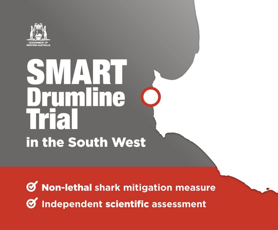 SMART drumline trial and extension of the Shark Monitoring Network